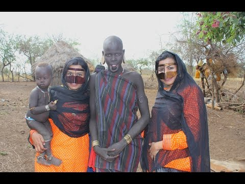 FIRST TWO UAE GIRLS TO LIVE WITH MURSI TRIBE