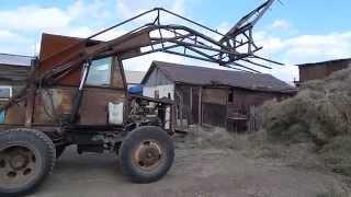 самоделка трактор стогомёт 1