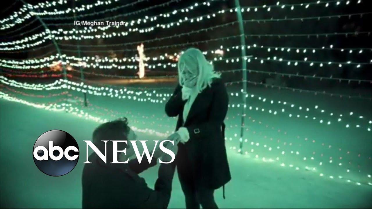 Meghan Trainor & Daryl Sabara Fully Engaged In ... A Smooch & Stroll!