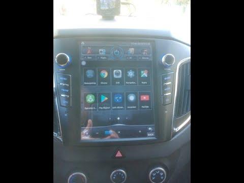 """Магнитола Тесла в Хендай Крета/Hyundai Creta 10.4"""" Tesla Style - ч 1."""
