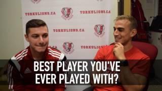 York Lions   Getting to know... Joey Cicchillo & Matthew Arnone (men