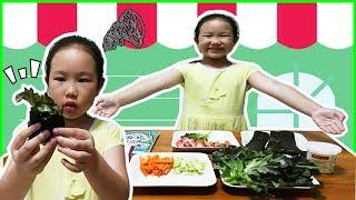 น้องการ์ตูน ทำอาหารเมนูสุขภาพ สลัดโรลสาหร่าย น่ากินสุดๆ