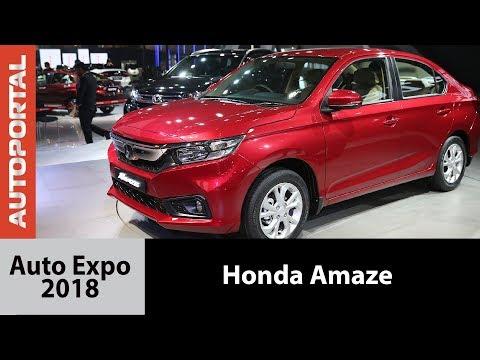 All new 2018 Honda Amaze at Auto Expo 2018 - Autoportal