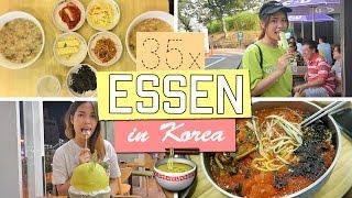 35 Dinge, die Ich in Südkorea gegessen habe! 🇰🇷