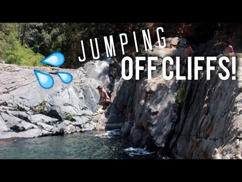 JUMPING OFF CLIFFS & EXPLORING THE OLD LA ZOO! | ZOMBIELIFE