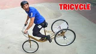 LE TRICYCLE VA T-IL RESISTER ?