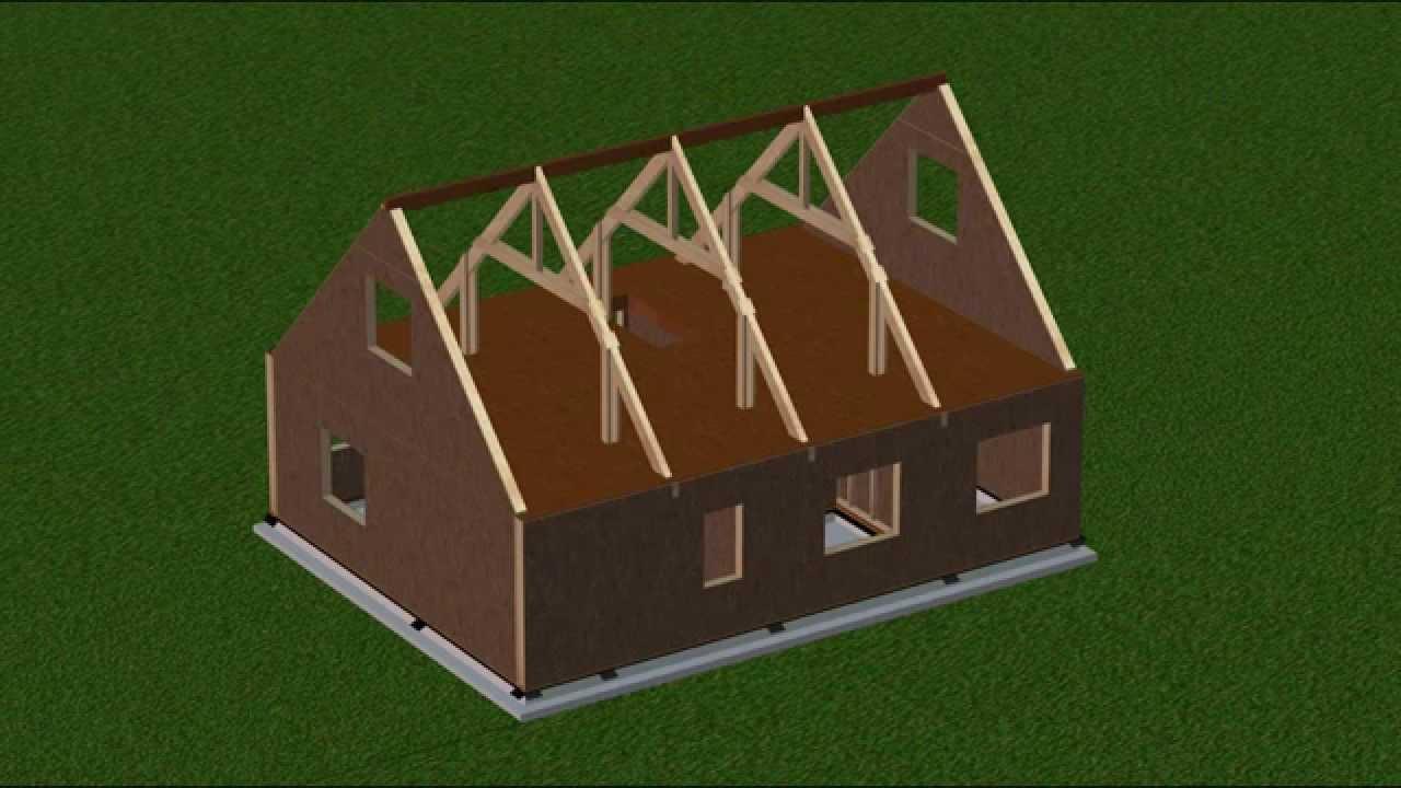 Construisez Votre Maison Kit En 5 Jours   Mobic Autoconstruction