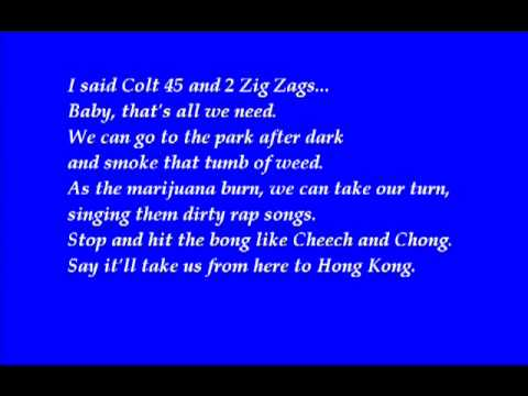 Afroman Colt 45 Lyrics   YouTube