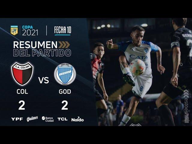 Copa De La Liga | Fecha 10 | resumen de Colón - Godoy Cruz
