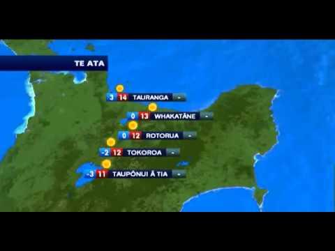 Breakfast  TV Peter Williams Maori Language Week