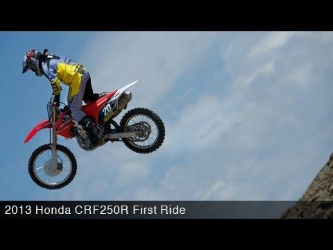 MotoUSA First Ride: 2013 Honda CRF250R