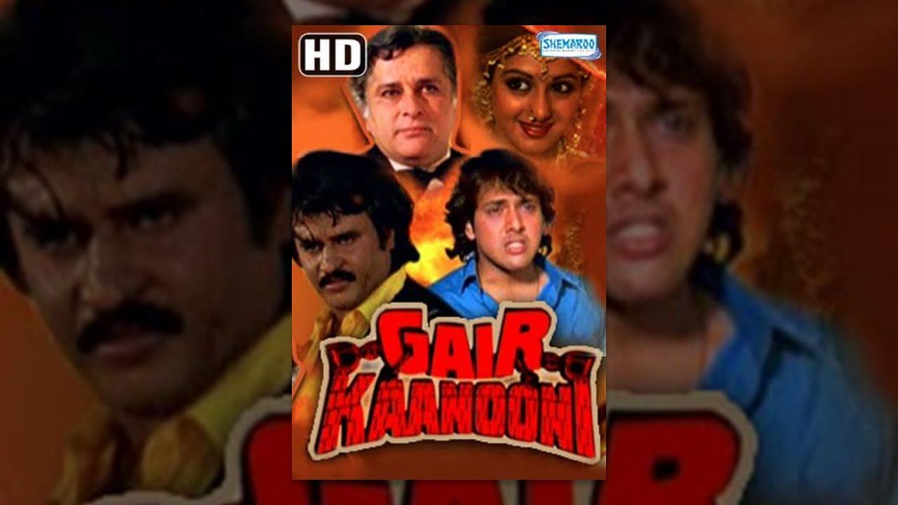 Download Gair Kaanooni {HD} Hindi Full Movies - Govinda, Sridevi, Rajinikanth - Hit Film - With Eng Subtitles