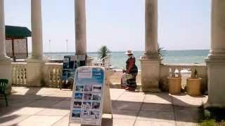 Отдых в Абхазии Сухум 2013(Август 2013 года. Отдых в Абхазии. Город Сухум. Пляж санатория МВО. Гостиница