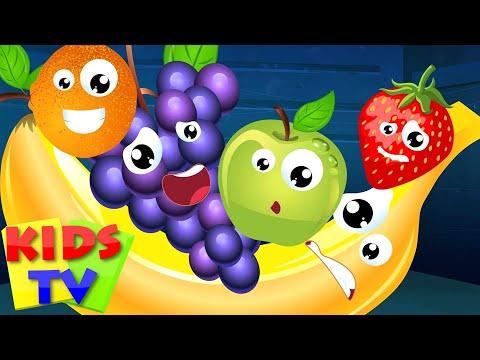 Kids TV Nursery Rhymes | Five Little Fruits | Nursery Rhyme Kids Tv  | Fruits Song