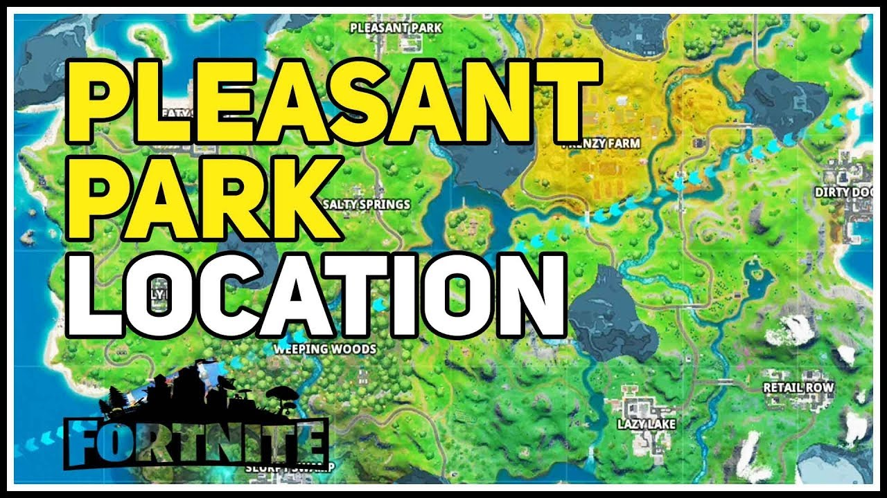 Pleasant Park Fortnite Zombies Pleasant Park Named Location Fortnite Chapter 2 Youtube