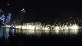 Dubai Fountain - Enrique song
