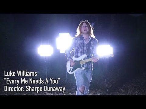 """Luke Williams - """"Every Me Needs A You"""" (OFFICIAL MUSIC VIDEO)"""