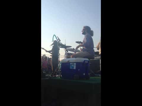 Drums and a Cooler- Ryan Montbleau Band at Esker Point Beach 6/21/12 James Cohen
