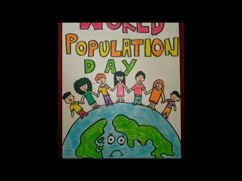 World Population Day Poster ideas 2018