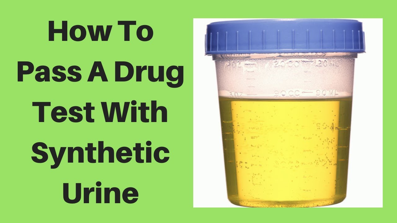 How To Pass A Drug Test With Synthetic Urine - YouTube