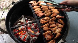 Wings Wednesday - Salt And Vinegar Wings On The Weber Kettle