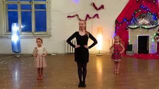 Бальные танцы для детей, полька, начинающие. Хореограф Марина Гусаченко (СПб)