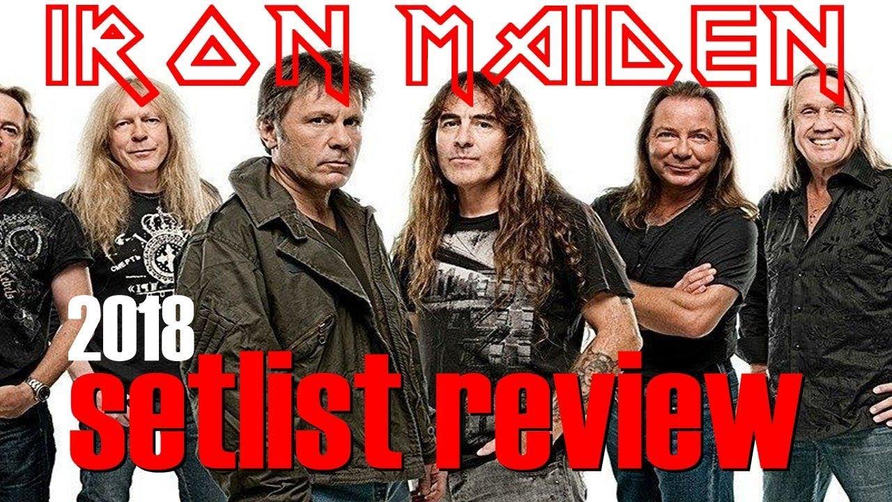 iron maiden legacy of the beast tour setlist