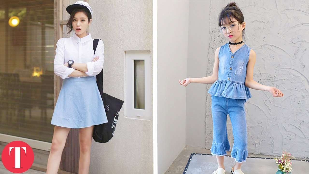 10 Popular Fashion Trends You Didn 39 T Know Come From Korea Youtube