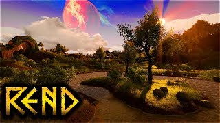 An incredible New Adventure! - Rend Gameplay Part 1 (Survival, Crafting, Hunting)