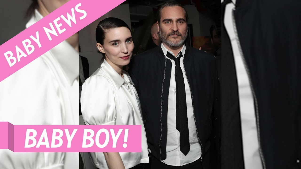 Joaquin Phoenix and Fiance Rooney Mara Welcome First Child ...