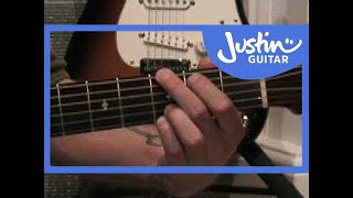 Wish You Were Here - Pink Floyd #1of4 (Songs Guitar Lesson ST-301) How to play