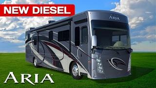 Thor Aria Diesel Motorhomes Review - New 2017-2018