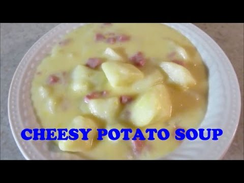 Cheesy Potato Soup - Easy Soup Recipes