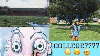 Vlog #6 | college visits in SoCal | Baelani Vlogz