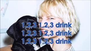 Sia - Chandelier (instrumental karaoke with lyrics)