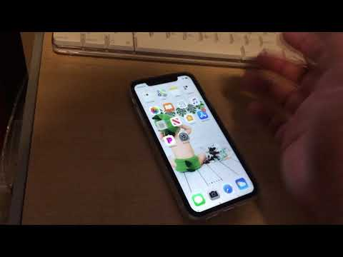 Shut Down Iphone X/XR/XS by holding POWER Side Button + any Volume Button.  Not intuitive/easy