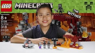 LEGO MINECRAFT - Set 21126 THE WITHER - Unboxing, Review, Time-Lapse Build
