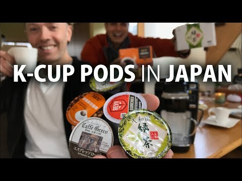 Japan K-Cup Coffee & Green Tea Pods