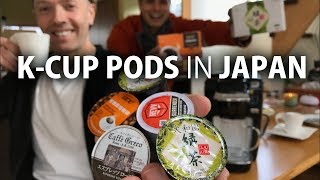 So I got a Keurig K-Cup maker in the US and brought it back to Japa...