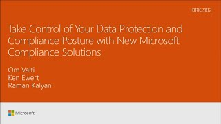 Take Control of Your Data Protection and Compliance Posture with New Microsoft Compliance