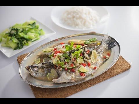 Tasty Treat Thai Steam Fish Siakap Stim Ala Thai Youtube