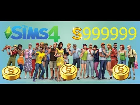 The Sims 4 Unlimited Money CHEAT +99999999 (2018)