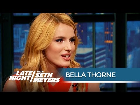 Scream Star Bella Thorne Wasn't Born When the First  Scream Came Out - Late Night with Seth Meyers