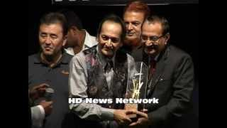 Actor Biswajit Chatterjee  Recives Mhd Rafi Award.