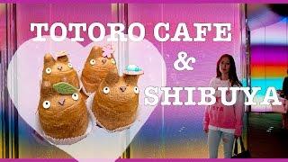 Totoro Cafe! Shibuya & Bape Shopping  [VLOG] Tokyo Day 2