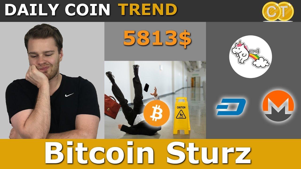 Bitcoin Sturz