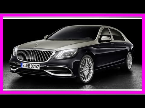mercedes-maybach's S-class further refines the german-automaker's top model By J.News