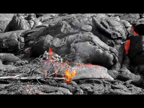 1/09/2015 -- Lava Flow breakout upslope from Pahoa -- moving new direction towards Ainaloa
