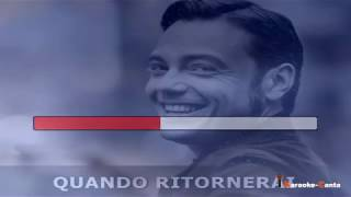 Tiziano Ferro - Quando Ritornerai (Video demo)