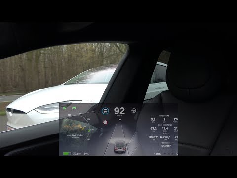 How does the Auto Lane Change work? And what happens if you disable the sensors?